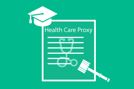 college health care proxy and power of attorney