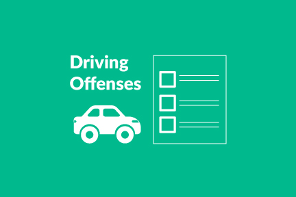 common driving offenses