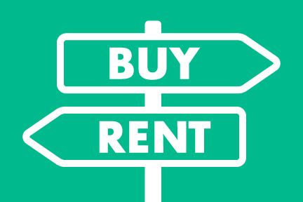 buy or rent home