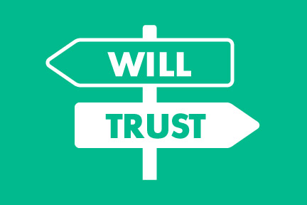difference between will and trust