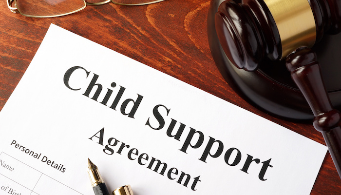 pandemic child support